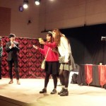 "English Literature students perform ""Somebody Famous"""