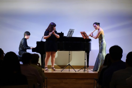 Masters & students play the Goethe-Institut Seoul