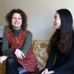 German School of Music violin professor Viktoria Kaunzner and student Juhee Im