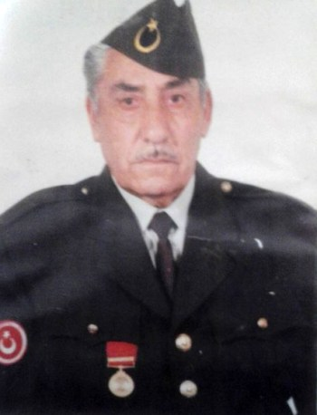 Kangnam University student Onur Sahil Cerit's grandfather Sgt Cemil Demiroz, who fought in the Korean War. (Photo courtesy of Onur Sahil Cerit)