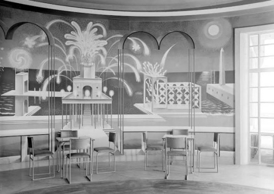 The original Ravilious Rotunda artwork. Credit: RIBA