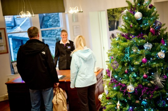 A warm welcome at Waterhead reception