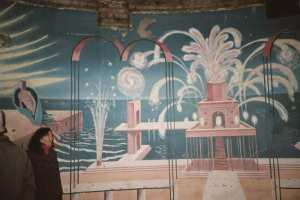 Mural mural re-created at the Midland in 1989 by director Brian Eastman and the Poirot designers