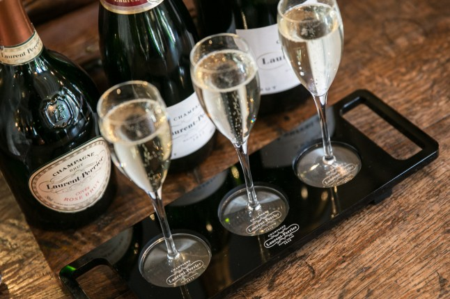 Laurent-Perrier served at The Wild Boar