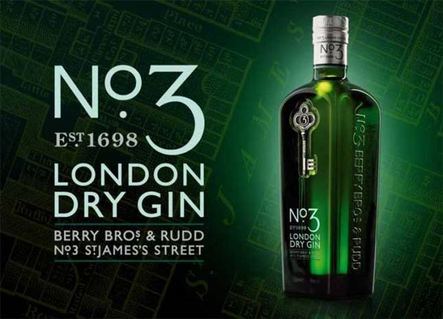 Distilled to a proprietary recipe of Berry Bros. & Rudd, London's oldest wine and spirit merchant.