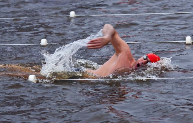 Latvia swimming photo