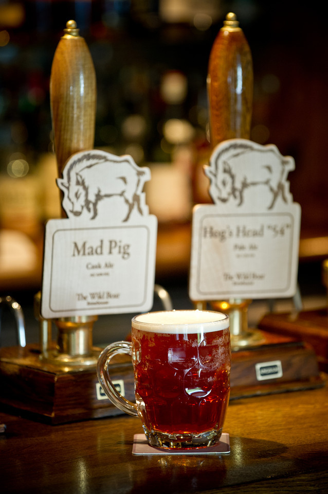 Ales for The Wild Boar Brewhouse