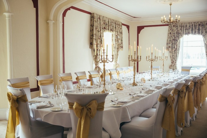 The Buckley Room at Low Wood Bay, perfect for intimate celebrations