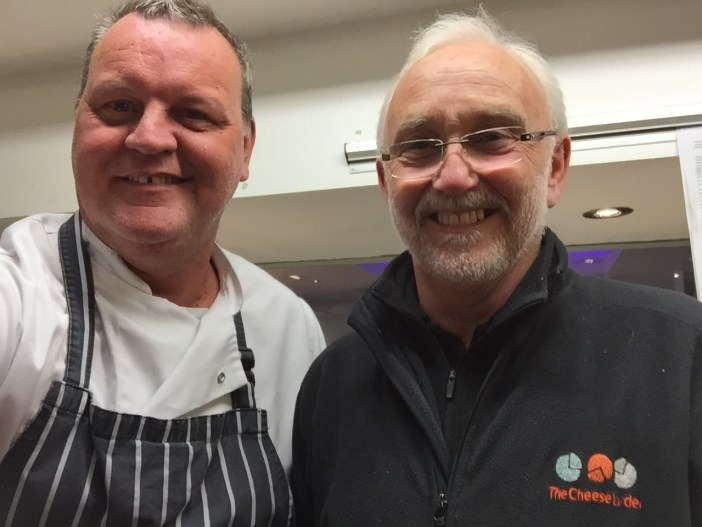 Waterhead Head Chef, Nick meets with Barry of The Cheese Larder