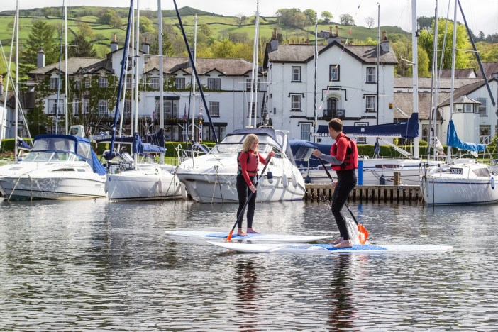 Paddle Boarding at Low Wood Bay Watersports Centre