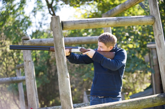 Clay Pigeon Shooting in The Wild Boar Woods