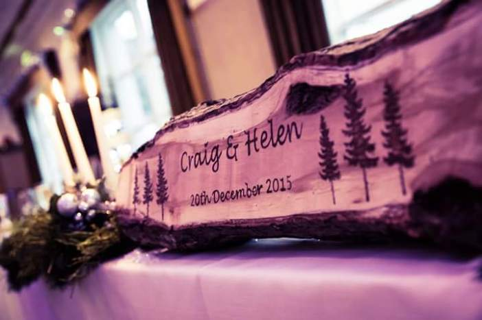 Craig and Helen's Christmas Wedding at Low Wood Bay