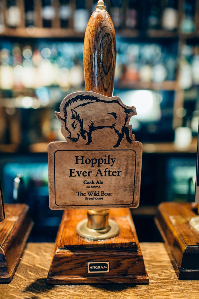 Name your own Beer from The Wild Boar Brewhouse / Rachel Hayton