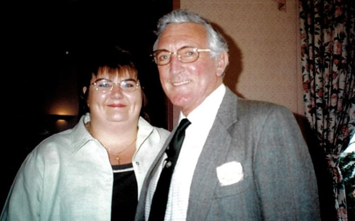 Maria and the late Michael Berry.