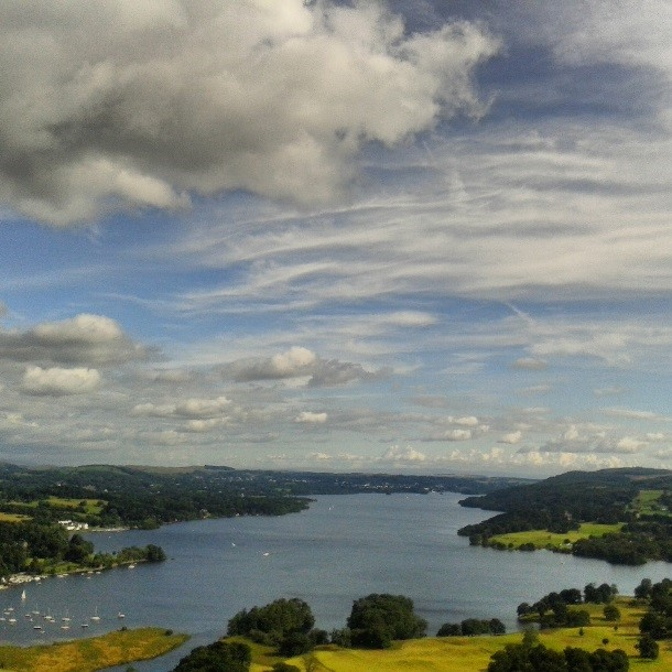 View of Windermere from Loughrigg