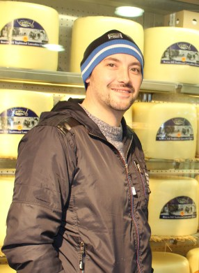 Damien in Cheese Heaven