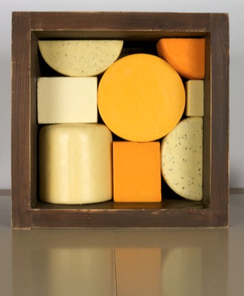 Selection of Dewlay cheeses