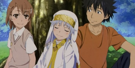 (pictured: A Certain Magical Index)