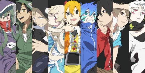 (pictured: Kagerou Daze [anime: Mekakucity Actors])