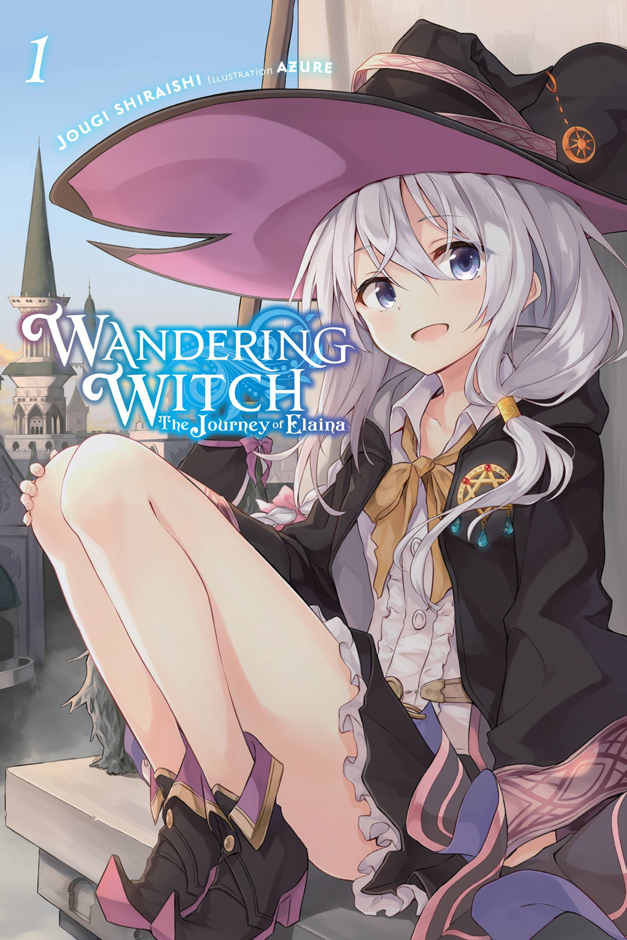 Wandering Witch: The Journey of Elaina Volume 1 Cover