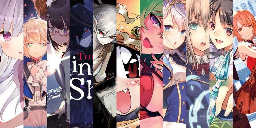 Light Novel Series Debuting August 2020 Banner Image