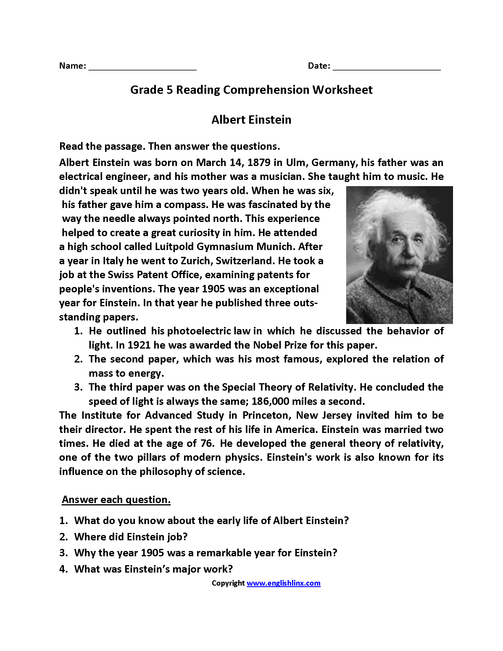 Worksheet 8th Grade Reading Worksheets Grass Fedjp