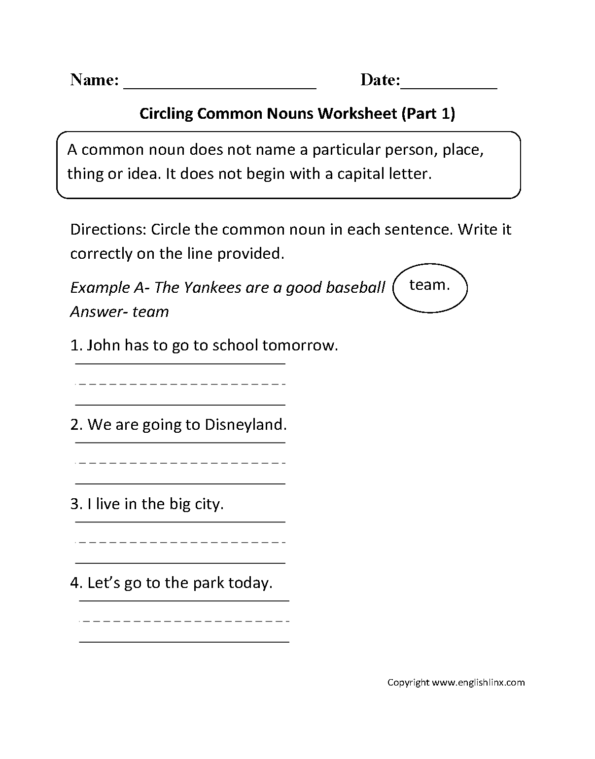 Worksheet Noun Worksheets 4th Grade Grass Fedjp