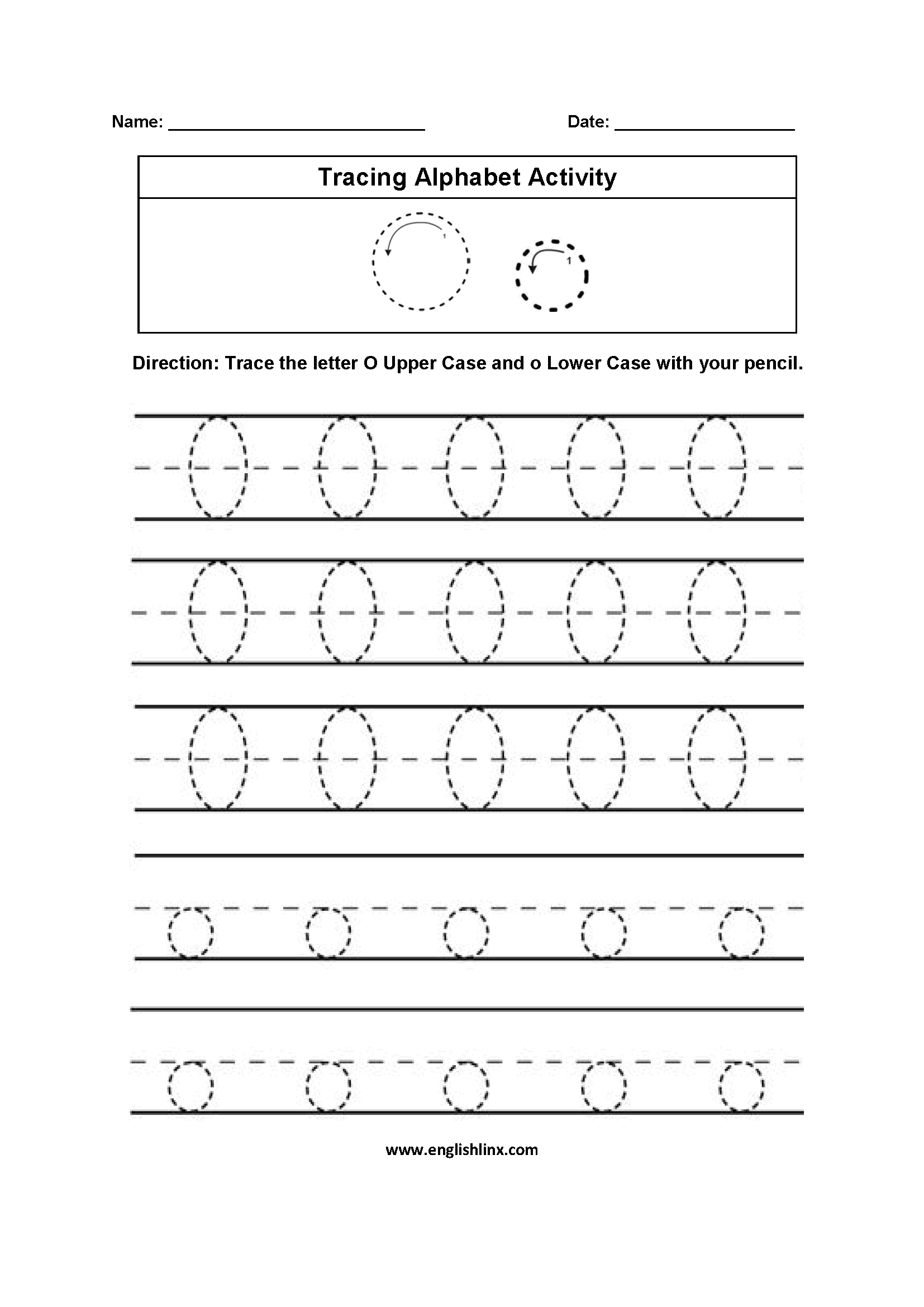Homeschool Worksheet Letter Q