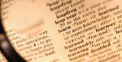 diccionario palabras ingles
