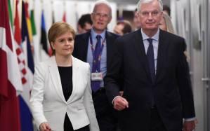 Celtic Subversives Nicola Sturgeon SNP pro EU