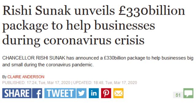 Idiotic Response to Coronavirus