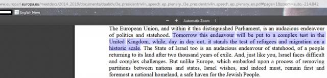Israeli-President-Speech-EU