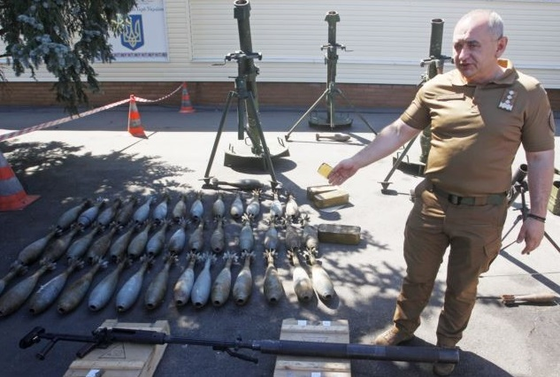 Weapons_Savchenko_Accused_Of_Stockpiling
