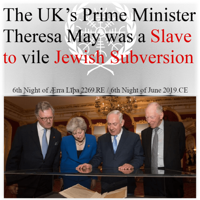 Theresa May was a slave of the Jews