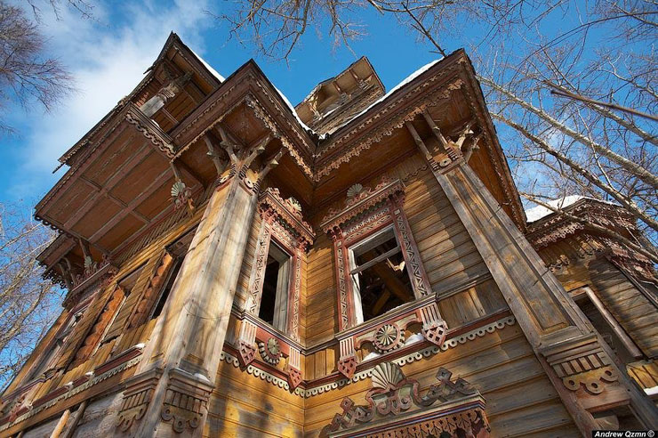 Russian wooden architecture 1