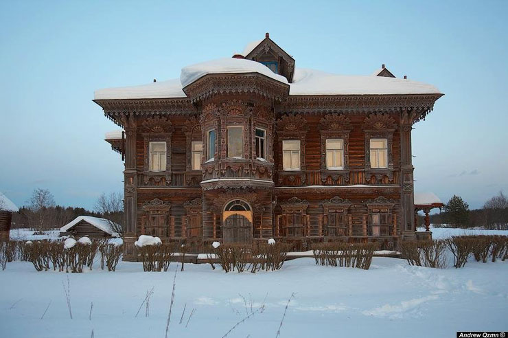 Russian wooden architecture 2
