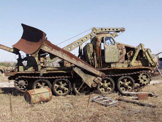 Abandoned Russian army scrap metal 5