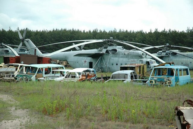 Abandoned Russian army scrap metal 9