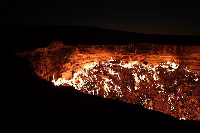 door to hell in Darvaz 5