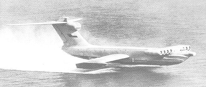 Russian ekranoplane atau ekranoplan 6