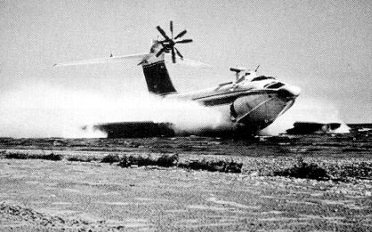 Russian ekranoplane atau ekranoplan 7
