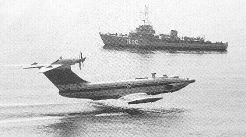Russian ekranoplane atau ekranoplan 9