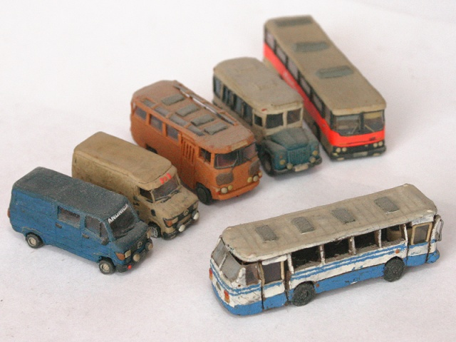 russian cars made of plasticine 10
