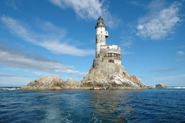 Russian Abandoned Nuclear Polar Lighthouse 1