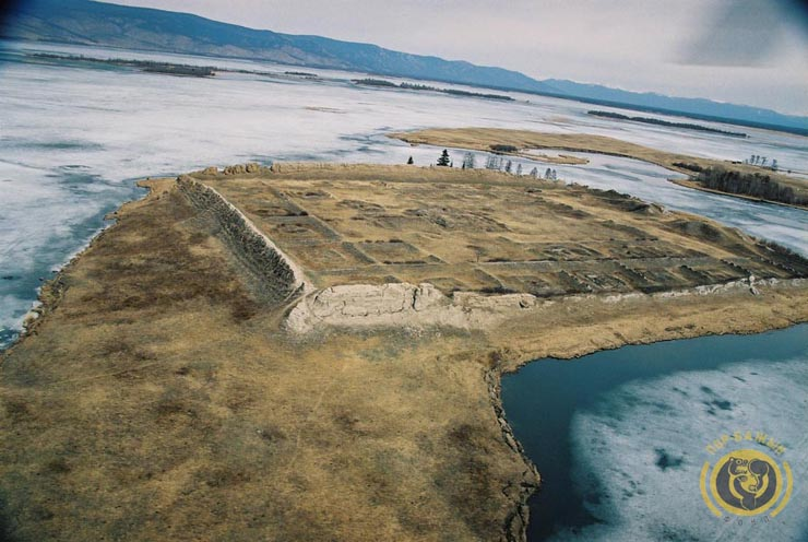 ancient Russian fortress on the island 17