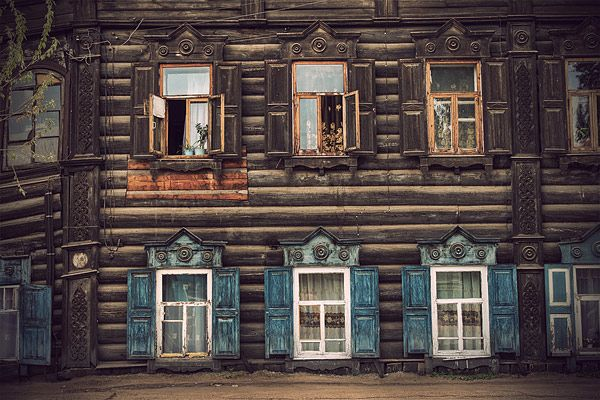 Russian wooden architecture 22