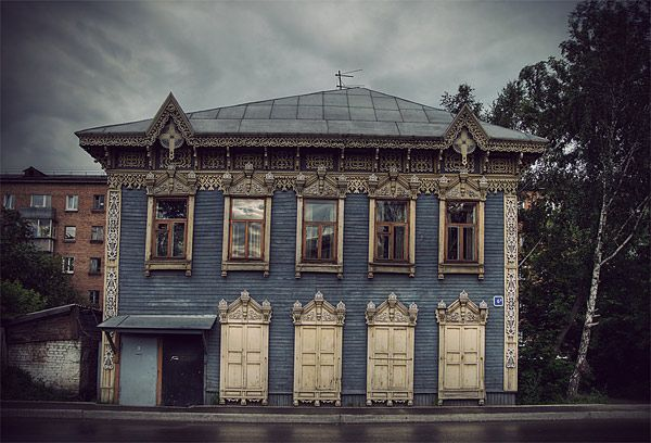 Russian wooden architecture 33