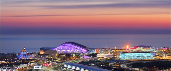 Sochi on the Sunset of the Final Day | English Russia