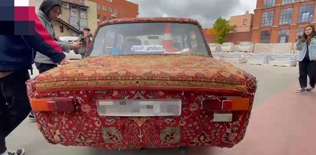 Ковролина — единственная в Москве копейка, полностью обтянутая коврами » Триникси