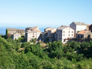 Corsican Village South of France